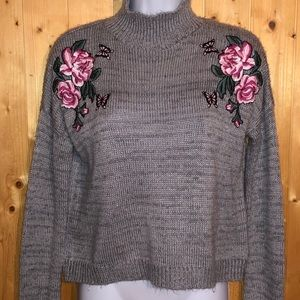 Cloud Chaser embroidered sweater